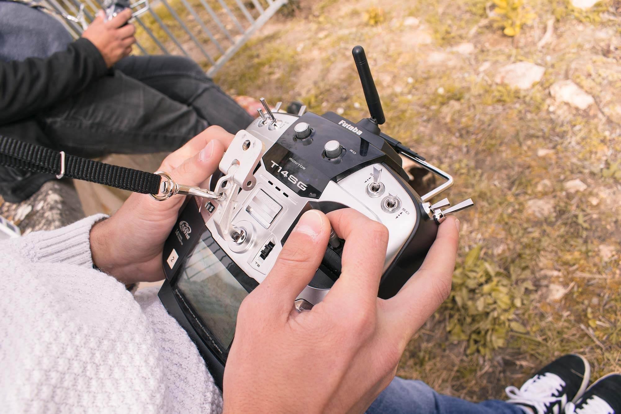 pilotage drone