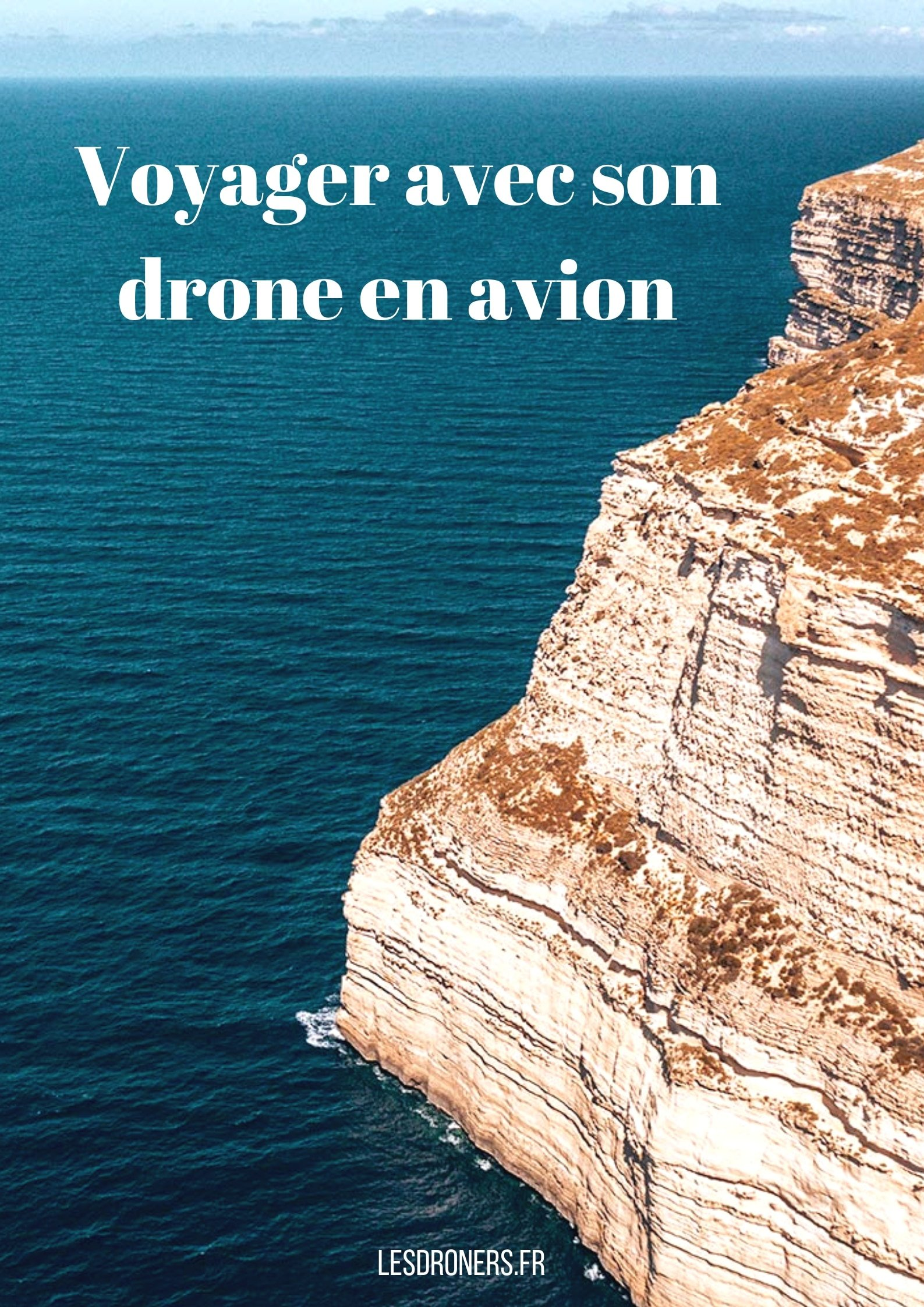 voyager avec son drone en avion