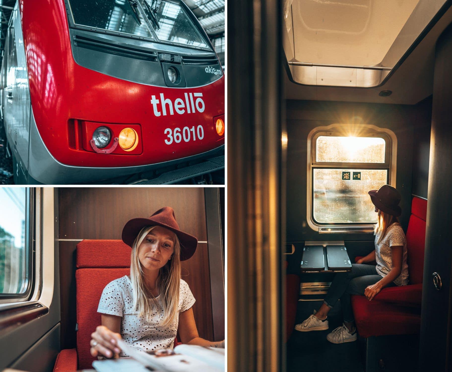 Train de nuit paris venise